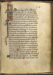 Zoomorphic Interlace Initial, In 'The Gospels Of Mael Brigte' f.128r